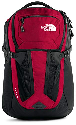 The North Face Recon Backpack, TNF Red Ripstop/TNF Black, One Size