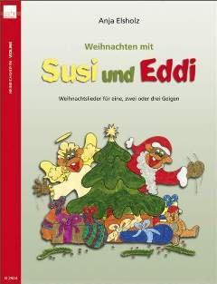 WEIHNACHTEN MIT SUSI + EDDI - arrangiert für Violine (eins, zwei oder drei Violinen) [Noten / Sheetmusic]