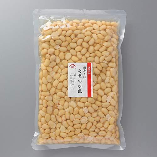 味噌作り用大豆水煮1kg 国産大豆水煮