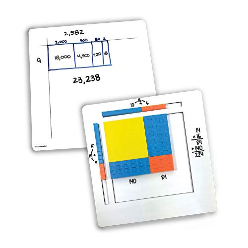 EAI Education Magnetic Visual Area Modeler (Boards Only) - Set of 2