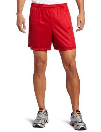 SOFFE–Pantalón Corto Nylon Slip Fitness - Rojo -