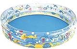 VIVOCC Natación poois for niños y Adultos Quick Set Inflable Piscina sobra la Tierra Familiar Piscina, Swim Center for Kids