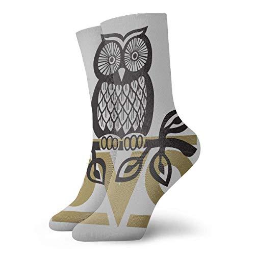 N/A Ocasionales Calcetines,Calcetines Deportivos,Alto Rendimiento Sports Socks,Ovo Owl Moisture Control Running Calcetines Calcetines De Entrenamiento Transpirables Duraderos