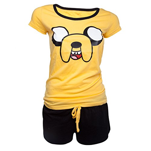 Adventure Time Jake Pyjama gelb L