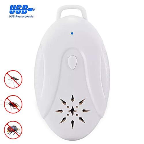 bester der welt USB tragbarer Ultraschall-Schädlingsbekämpfer, Insektenschutzmittel im Freien, Floh- und Dani-Abwehrmittel… 2021