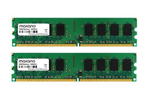 2GB Dual Channel kit (2x 1GB) para Dell Dimension 9150DDR2533MHz (PC2–4200U) DIMM Memoria RAM Memory