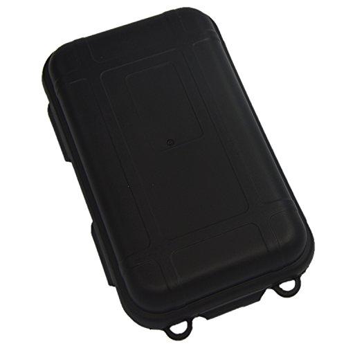 Gosear Scellé Antichocs Étanche en Plastique Petites Boîtes W/Éponges Outdoor Gear Produit 14 x 8 x 4CM Noir