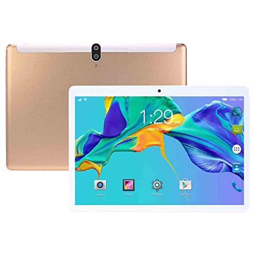 HAIWEI Tableta de 10 Pulgadas Android 10, Llamada telefónica 3G y Tableta WiFi con Tarjeta SIM, procesador de Cuatro núcleos, 8GB RAM + 128GB ROM, cámara de 8MP y 13MP, 8800mAh, Bluetooth, GPS