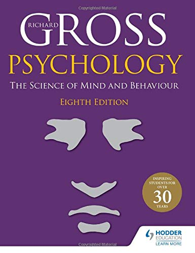Psychology: The Science of Mind and Behaviour, 8th Edition Front Cover
