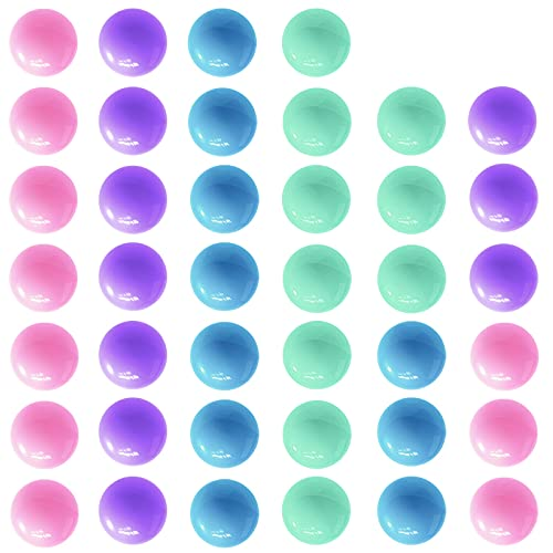 Hotgod 40Pcs Game Replacement Marbles Balls Compatible with Hungry Hungry...
