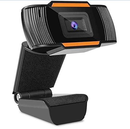 MECO ELEVERDE Webcam con Micrófono para PC Portátil Cámara Web HD 1080P, Webcam USB Plug and Play para Youtube, Videollamadas, Estudio, Conferencia, Juegos, Grabación y Transmisión