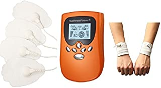 HealthmateForever 8 modos cuerpo portátil Mini Massager naranja