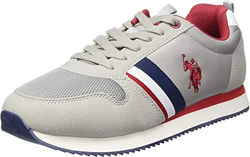U.S. POLO ASSN. Nobi, Sneaker Uomo, Grigio (Grey 005), 41 EU