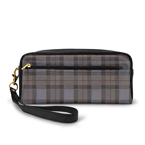 Federmäppchen Outlander Fraser Schottenkaro Stifttasche Make-up-Tasche Geldbörse großes Fassungsvermögen wasserdicht für Studenten oder Frauen