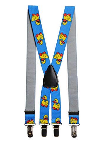 Brimarc Tools & Machinery Childrens Novelty Braces 5-8 Yrs (Duck Light Blue)