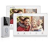 JSLBTech Videoportero 7 Pulgadas Timbre Video Sistema Interc