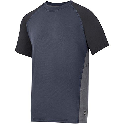 Snickers 25099504006 AVS Advanced T-Shirt Taille L Bleu Marine/Noir