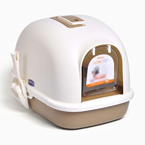 Xinxinchaoshi Toilette per Gatti Creativo Pedale lettiera Ciotola Grande Spazio Portatile Toilette for Gatti a casa for Esterni Gatto Toilette Toilette per Gatti (Color :...
