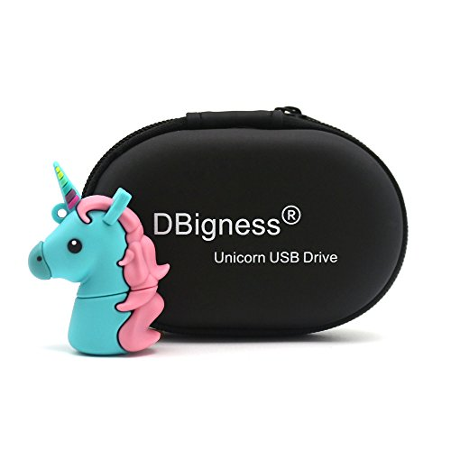 DBigness Cute Einhorn USB Stick
