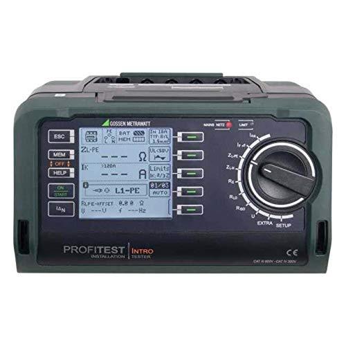 GMC-I Messtechnik Prüfgerät PROFiTEST Intro f.DIN VDE 0100 T.600 Prüfgerät nach DIN VDE 0100 4012932125993