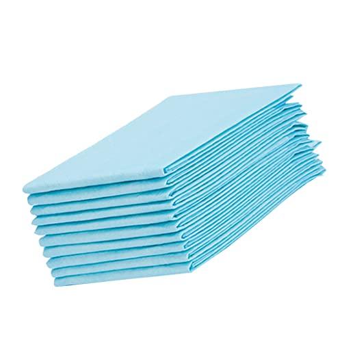 B Blesiya Paquete de 10 Almohadillas Desechables de 39.39'x 62.99' Altamente absorbentes de Gran tamaño Protector de colchón Cambiador de Almohadillas Esteras