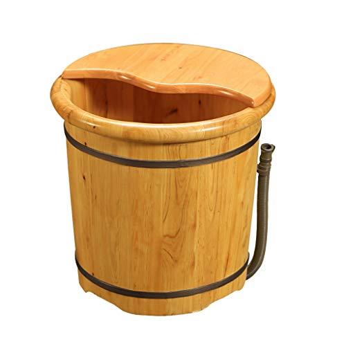 LRR voetenbad van hout, voetverzorging, vat met massage tegen vermoeidheid