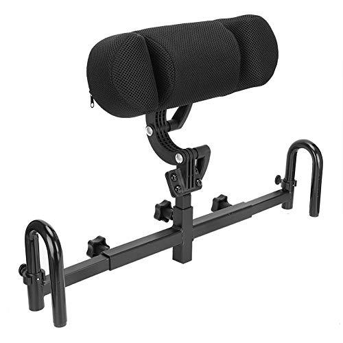 Qkiss Verstellbares Rollstuhl Kopfstützenkissen, Kopfstütze Rollstuhl Nackenstütze für Erwachsene(24mm)