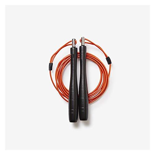 LDH Cuerda Saltar Cuerda de Salto de Longitud Ajustable, Mango de Metal Antideslizante 2.5mm PU Cuerda de Alambre de Acero de La PU Engranaje de Ejercicio de Ejercicio (Color : B)