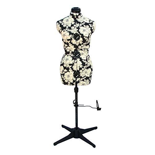 Sewing-Online Maniquí Ajustable Hollyhock Gris [Pequeño]