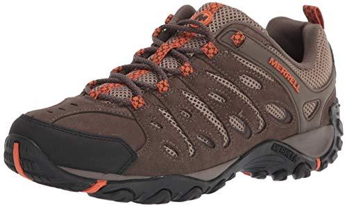 Merrell mens Crosslander 2 Hiking Shoe, Boulder/Apricot, 8.5 US