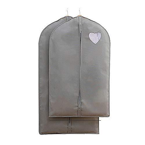 Koffer Organizer-Taschen S / L Hanging Storage Set für Anzug Packung 2 Stück Kleidungsstück Abdeckungen Lagerung oder Anzug Kleid Tasche Reiseaccessoires Kleiderkoffer Organizer ( Color : Gray )