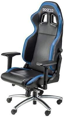 Sparco 00975NRAZ Silla de Despacho, Negro/Azul