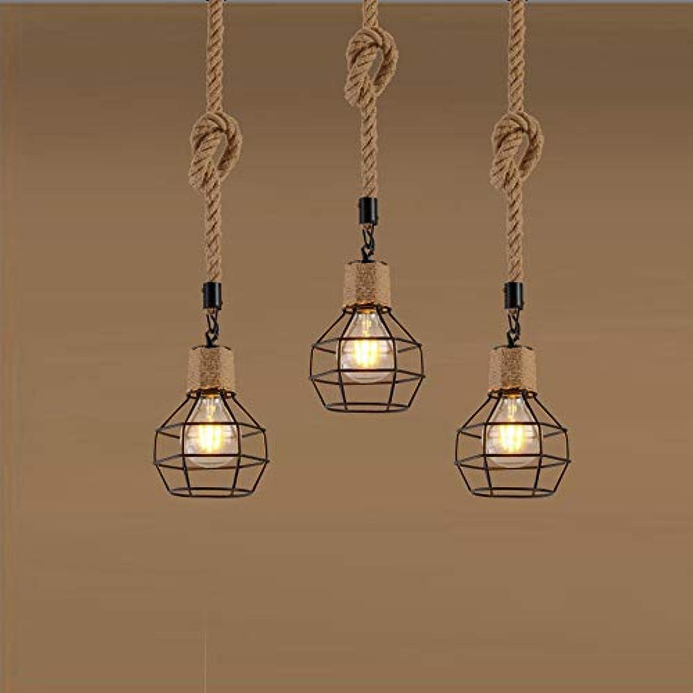 Antike Seil-Kronleuchter - Dekorative Pendelleuchte, Geeignet Für Personalisiertes Restaurant, Bar - Retro Lampen