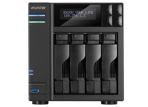 Asustor AS-604T-4X2000 Desktop NAS 4 Baies 8 to SATA III USB 3.0