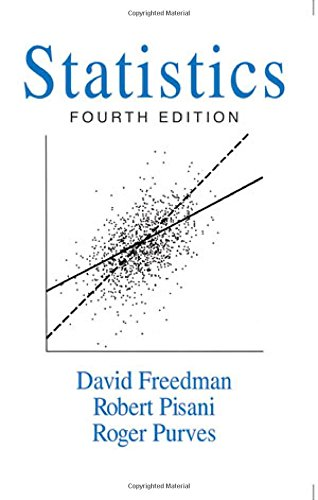 Compare Textbook Prices for Statistics 4th Edition ISBN 9780393929720 by Freedman, David,Pisani, Robert,Purves, Roger