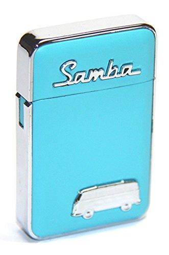 VW 'Original Volkswagen Briquet tempête Samba avec Premium Boîte Cadeau (Bleu clair)