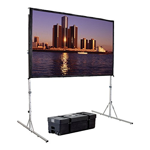 Fast Fold Deluxe Portable Projection Screen Viewing Area: 92' H x 144' W