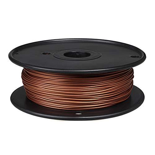 PLA Metal Filament 1.75mm, 3D Printer Filament 0.5kg, 60% PLA+40% Metal Powder-Bronze A