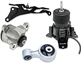 ONNURI For Nissan 2007-2012 Altima CVT AUTO 2009-2014 Maxima 3.5L Front Motor & Trans Mount 4PCS : A4355HY A4365HY A7363 A7361 - K1450