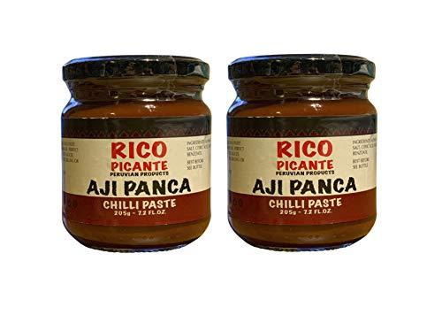 Aji Panca - Pasta de pasta 205 g (paquete de 2)