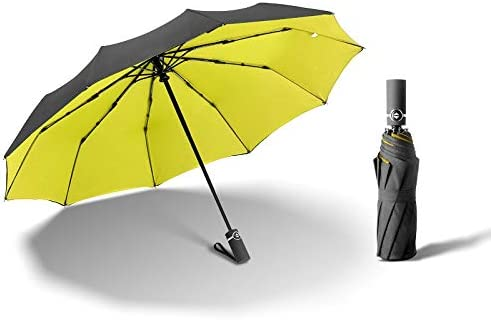 GYF Strong Wind Resistant Umbrella Max 72% OFF Double trend rank Foldin Fully-Automatic