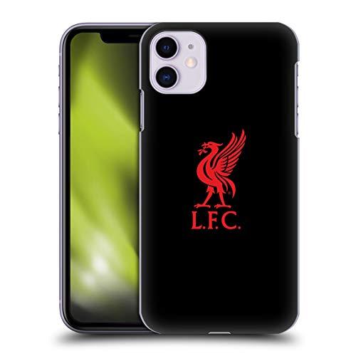 Head Case Designs Offizielle Liverpool Football Club Logo Rot Und Schwarz Liver Bird Harte Rueckseiten Handyhülle Hülle Huelle kompatibel mit Apple iPhone 11