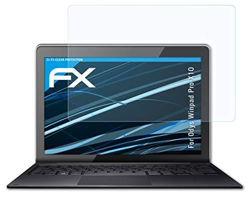 atFolix Schutzfolie kompatibel mit Odys Winpad Pro X10 Folie, ultraklare FX Bildschirmschutzfolie (2X)