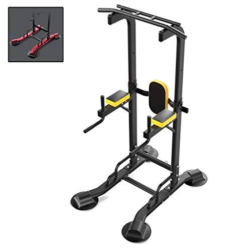 qazxsw - Barras paralelas individuales multifuncionales para entrenamiento físico, color negro, tamaño 77.9*120*240cm