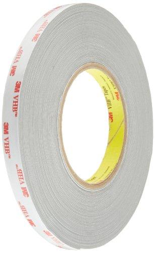 3M VHB Tape RP32 0.5 in width x 18 yd length (1 Roll)