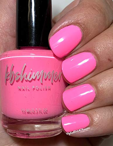 Pink Or Swim Nail Polish- 0.5 oz Full Sized Bottle