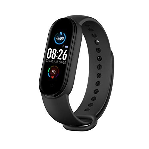 Captcha M5 Smart Band Fitness Watch Heart Rate, Activity Tracker, Calorie Counter, Blood Pressure