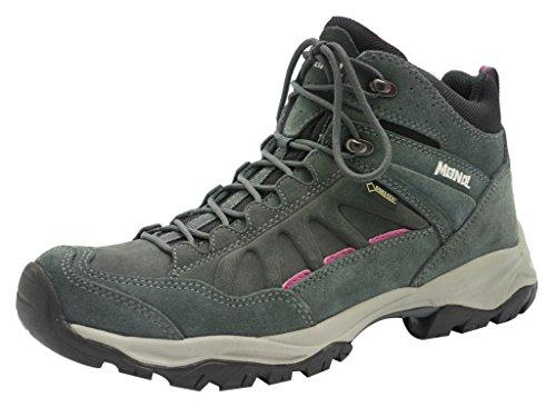 Meindl Outdoorschuhe Wanderschuhe Trekkingschuhe Nebraska Lady MID GTX anthrazit, Schuhe:UK 8/42