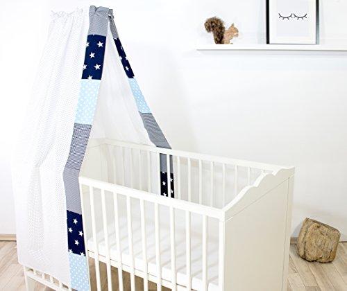 ULLENBOOM ® Betthimmel Baby 135x200 cm