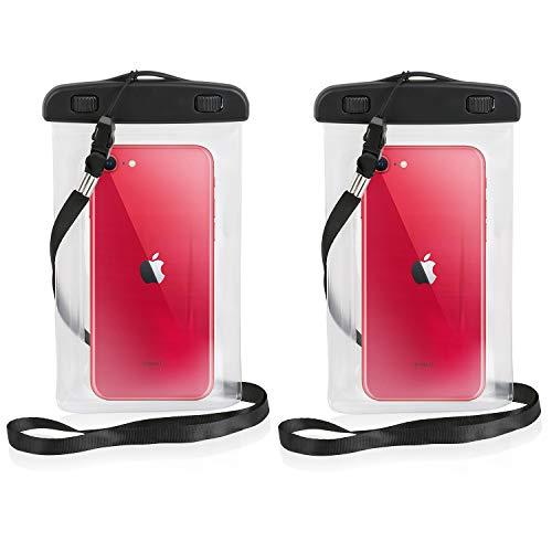 Wicked Chili wasserdichte Handyhülle kompatibel mit iPhone 13/12 (Pro, Mini) SE 2020, 11 Pro, XS, X, 8, 7, 6s - Waterproof Case gegen Staub, Sand, Nässe (iPX8) Outdoor Wasser Schutzhülle